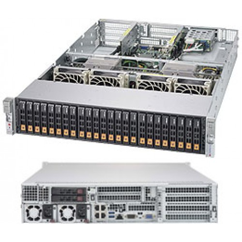 SuperServer 2028U-TN24R4T+ (Black)