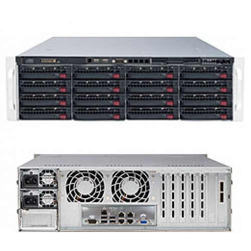 SuperServer 6037R-E1R16N (Black)
